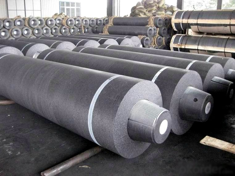Used for furnace UHP Graphite Electrode 600x2700mm with 317 T4L Nipples
